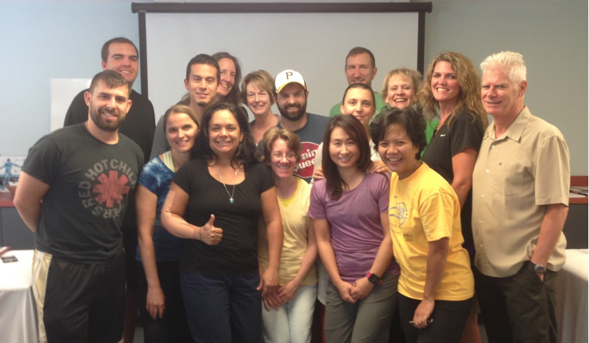 Students of Manual Trigger Point Therapy 2 in Bethesda MD August 2015
